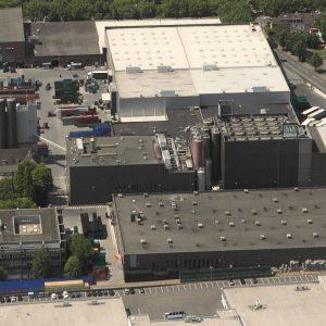Dortmund, Deutschland, 08.07.2013, Luftbild Radeberger Gruppe KG, Dortmunder Actien-Brauerei. Foto: Michael Printz / PHOTOZEPPELIN.COM