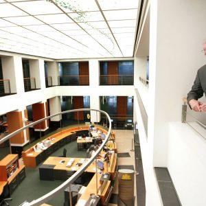 Mittwoch, 11. Oktober 2006 - Dieter Mahlmann, Direktor, Mitglied der Geschäftsleitung Commerbank AG Dortmund. Foto: Michael Printz / PRINTZ.NET Archivnummer: 20061011-1003081
