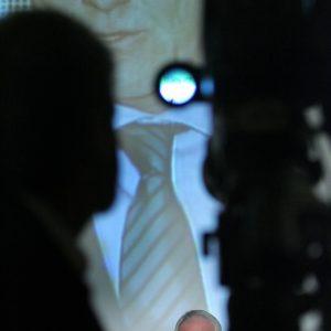 """Montag, 12. März 2007 - IHK-Veranstaltung """"Wirtschaft trifft Politik"""". Als Gast spricht der Ministerpräsident des Landes Nordrhein-Westfalen, Dr. Jürgen Rüttgers (CDU). Foto: Michael Printz / PRINTZ.NET Archivnummer: 2007-03-12-5767"""