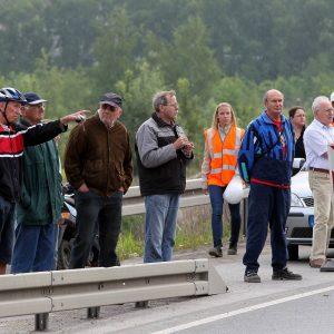 An der Ellinghauser Straße wurde die neue Brücke über den Dortmund-Ems-Kanal aufgelegt. Foto: Michael Printz / PHOTOZEPPELIN.COM